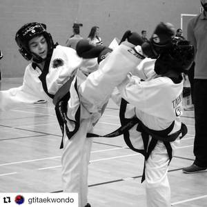 Excalibur Martial Arts Junior Black Belt Reilly takes silver in Boys Sparring at the GTI National Taekwondo Tournament in Cheltenham