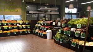 Vue du rayon Fruits et Légumes
