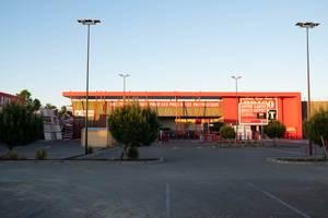 Vue de la façade du magasin