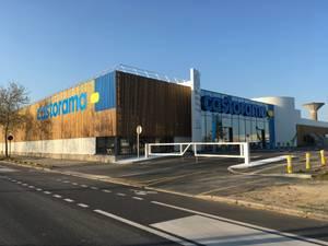 Vue perspective de la nouvelle façade sur le boulevard de la Beaujoire