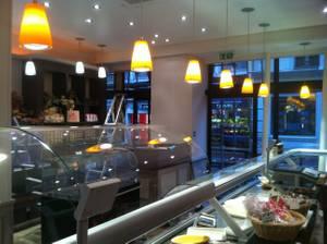 Aménagement d'une boucherie en centre ville de Saint Germain en Laye (78)