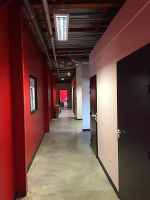 Vue des bureaux nouvellement créés