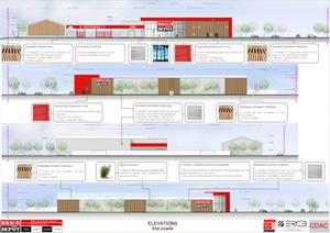 Traitement des façades - Planche de CDAC